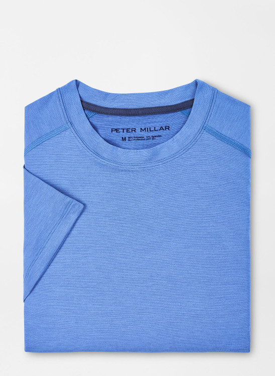 Apollo Performance T-Shirt in True Blue by Peter Millar