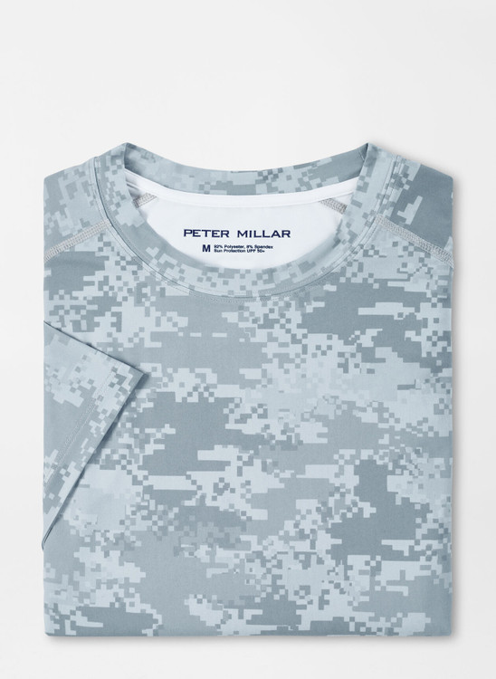 Apollo Performance T-Shirt in Gale Grey by Peter Millar