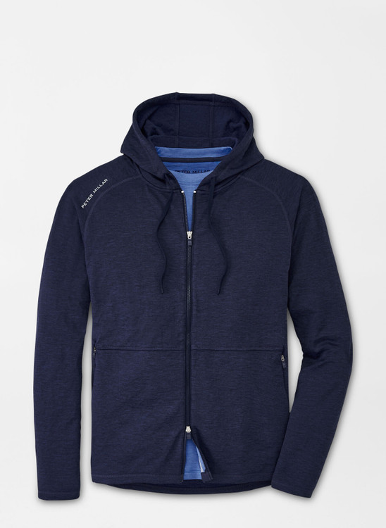 Apollo Performance Hoodie in Navy by Peter Millar