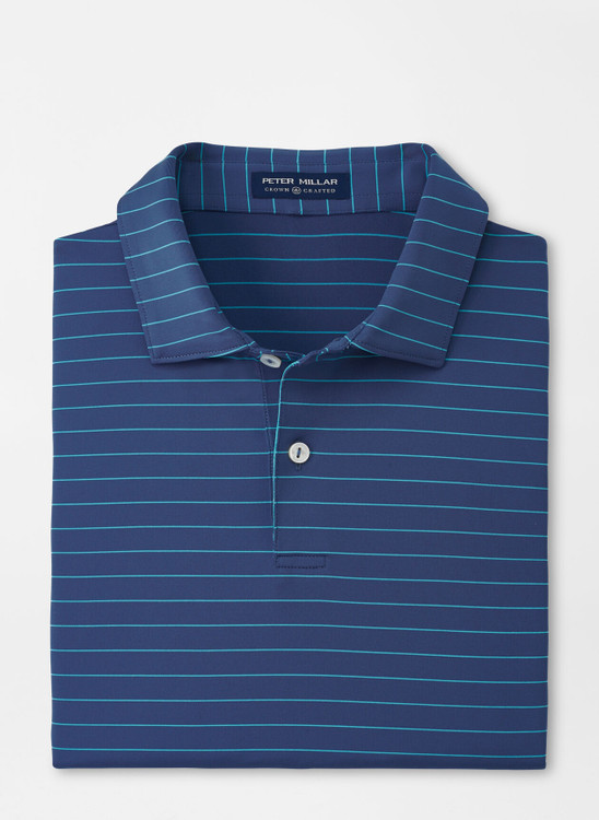 Wright Performance Jersey Polo in Nightshade by Peter Millar