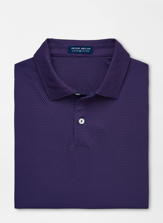 Spanish Performance Jersey Polo in Navy by Peter Millar