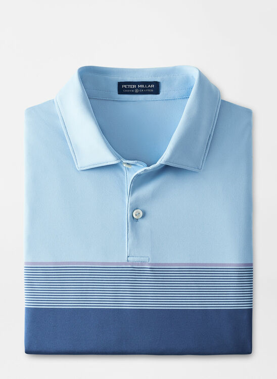Ballads Performance Jersey Polo in Blue Frost by Peter Millar