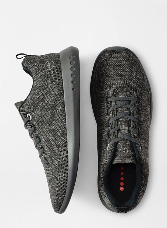 Hyperlight Glide Sneaker in Charcoal by Peter Millar