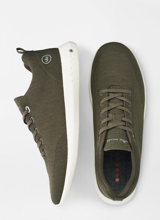 Hyperlight Glide Sneaker in Dark Olive by Peter Millar