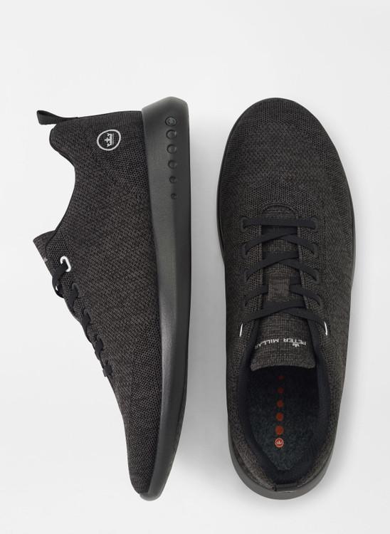 Hyperlight Glide Sneaker in Black by Peter Millar