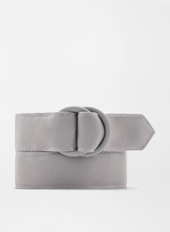 Crown Crafted Ribbon O-Ring in Gale Grey by Peter Millar