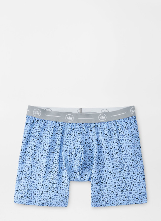 Mae Performance Boxer Brief in Cottage Blue by Peter Millar