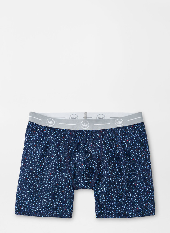 Shine Performance Boxer Brief in Navy by Peter Millar