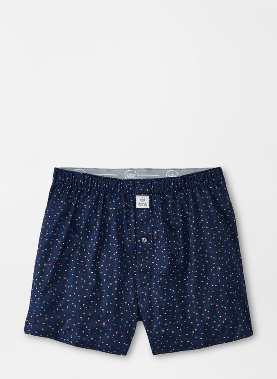 Hoops Performance Boxer in Navy by Peter Millar