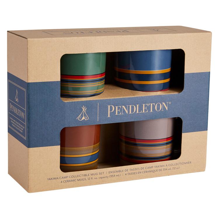 Camp Stripe Matte Mug Set by Pendleton