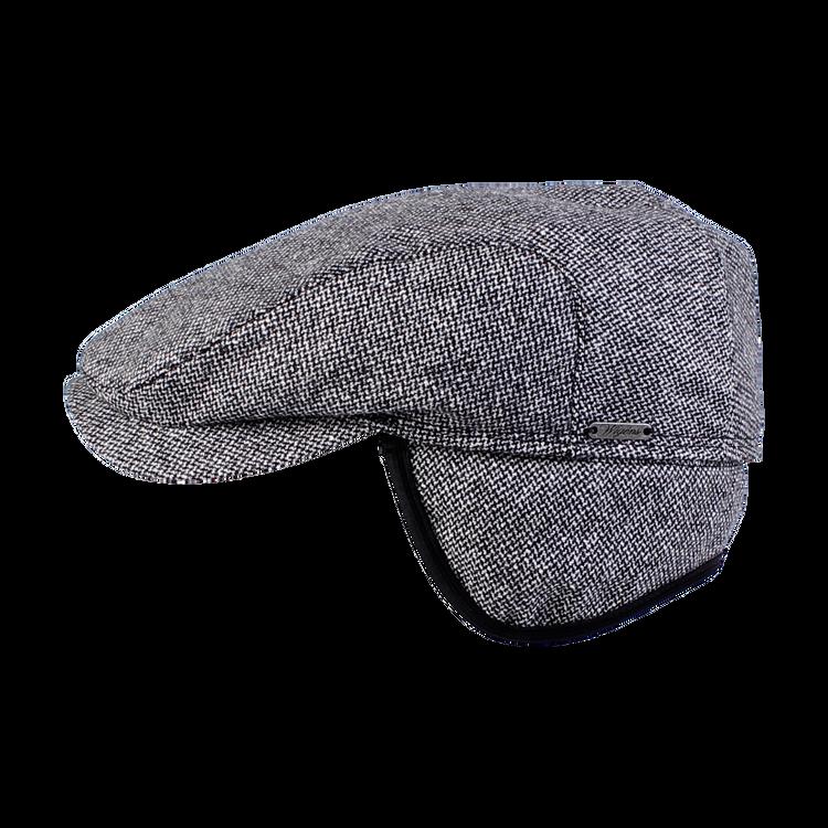 Salt and Pepper Blend Ivy Contemporary Cap in Grey Melange by Wigens
