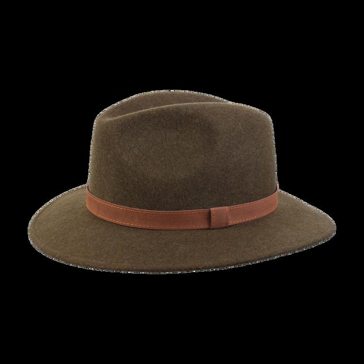 Bosco Wool Hat in Dark Olive by Wigens