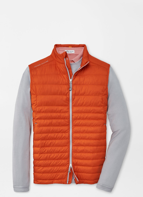 Hyperlight Quilted Vest in Lava Rock by Peter Millar
