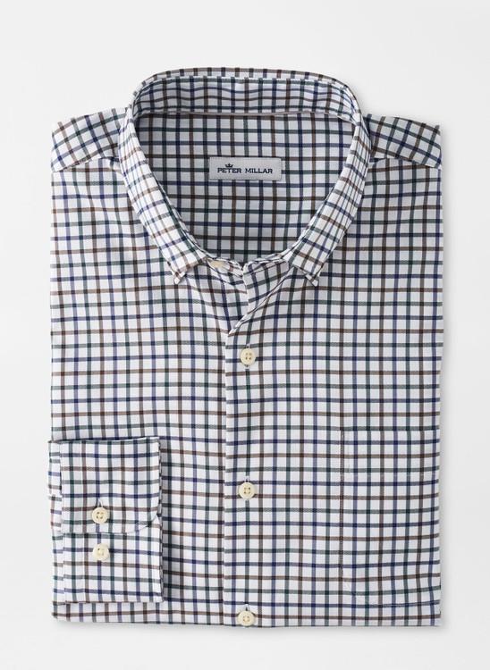Richmond Cotton-Blend Sport Shirt in Nordic Pine by Peter Millar