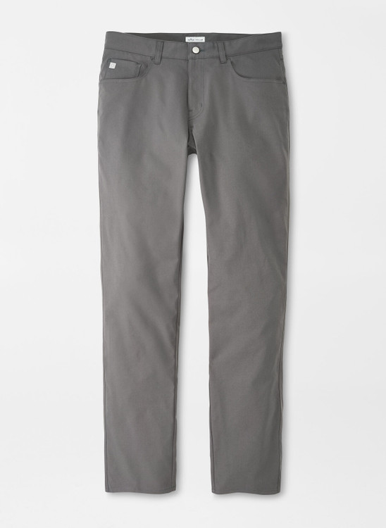 eb66 Performance Five-Pocket Pant in Iron by Peter Millar