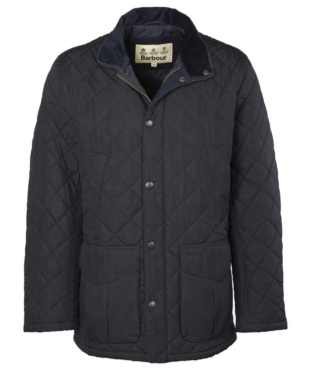 Devon Quilted Jacket in Navy by Barbour