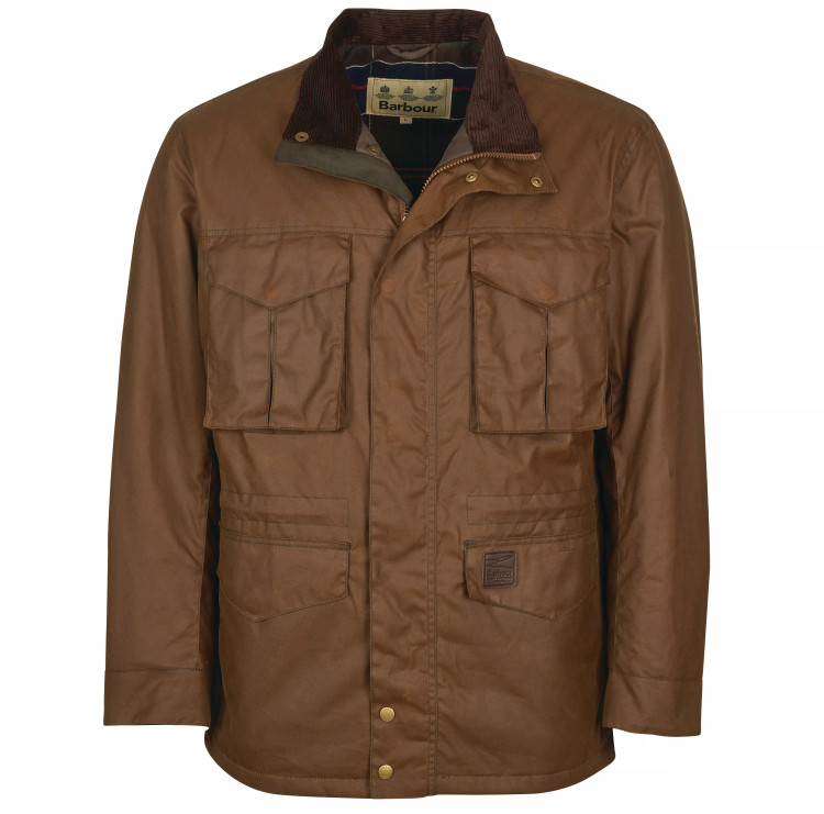 Watson Wax Jacket in Brown by Barbour