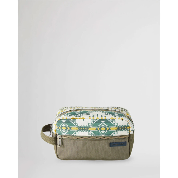 Pilot Rock Canopy Canvas Carryall Pouch in Olive by Pendleton