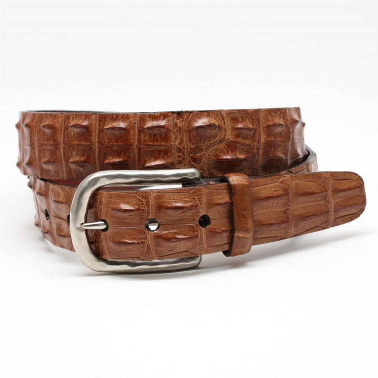 genuine american bison leather belt in tantorino
