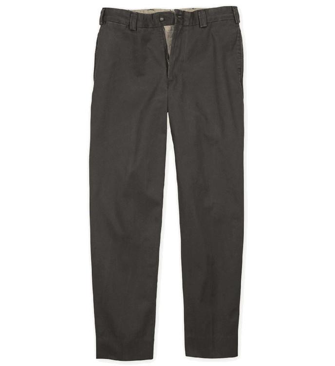 Sedona Brushed Twill Pant - Model M2 Standard Fit Plain Front in Granite by Bills Khakis