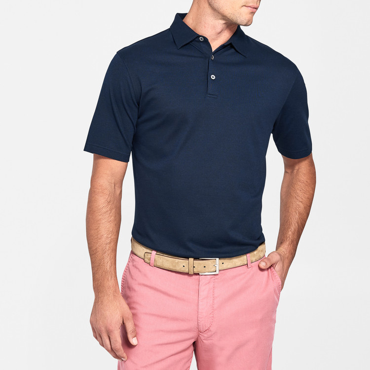 Perfect Pique Polo in Barchetta by Peter Millar