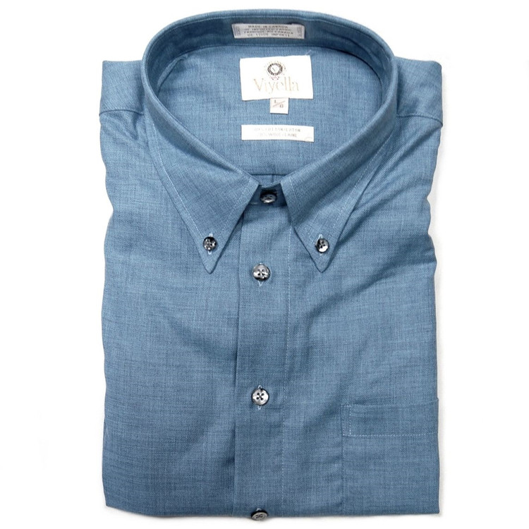 Chambray Button-Down Shirt by Viyella