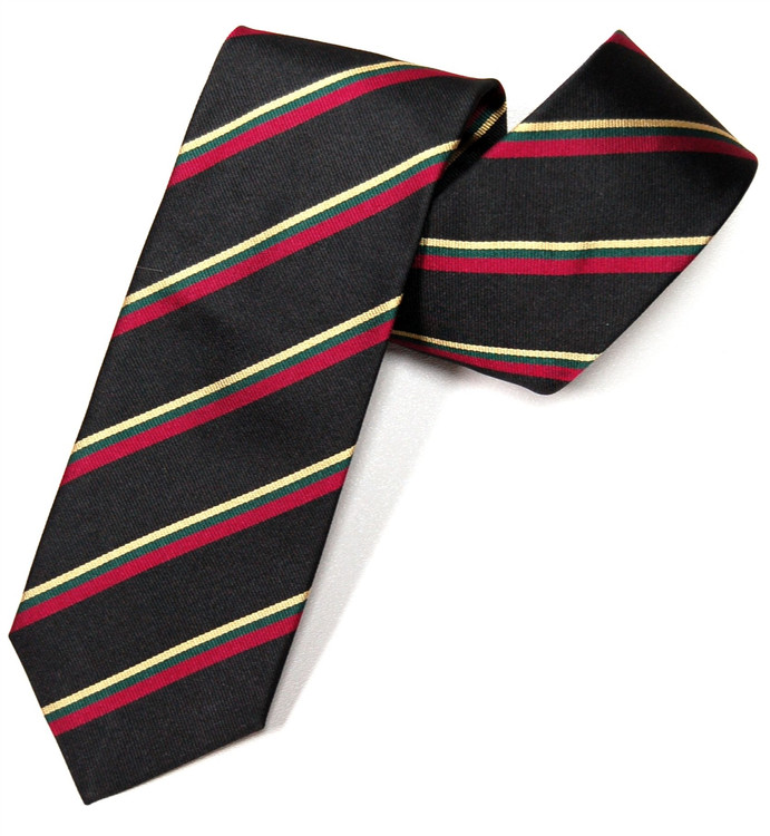 'Royal Marines' Regimental Stripe Tie by Gitman Brothers