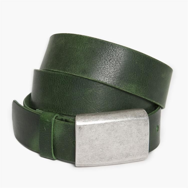 Douglas Belt in Green by Moore & Giles