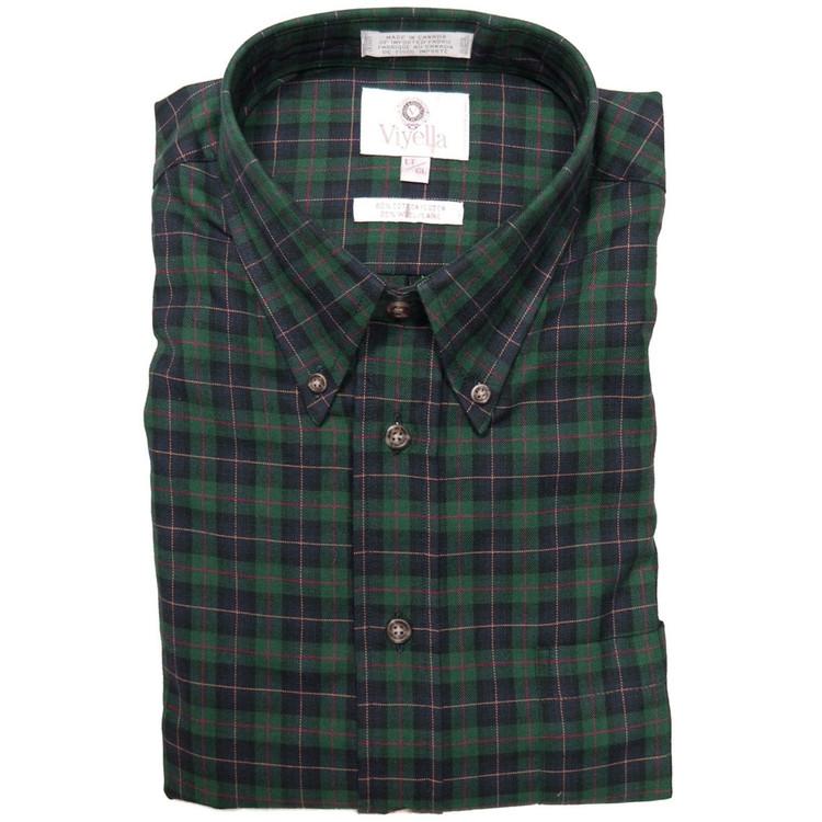Viyella Tartan Button-Down Shirt by Viyella