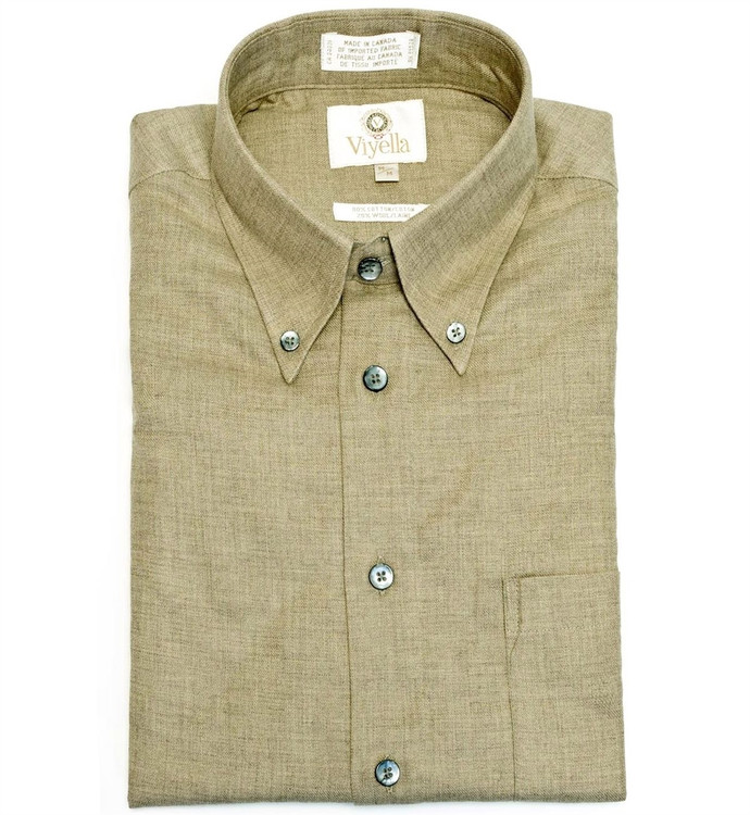 Shiitake Button-Down Shirt by Viyella