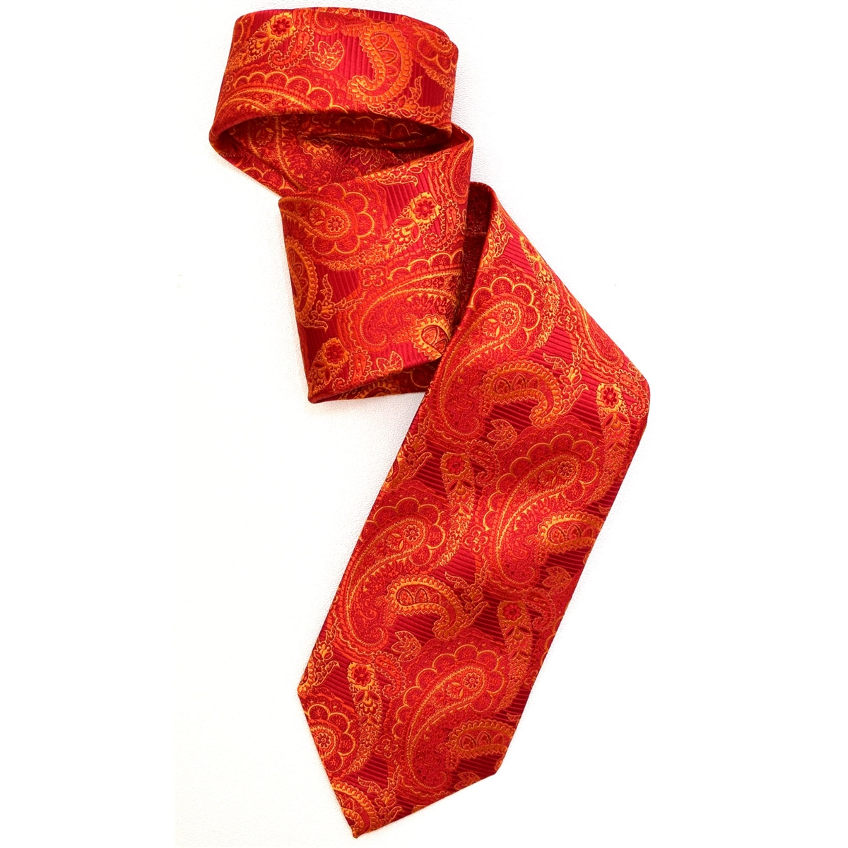 Robert Talbott Red Floral Paisley Best Of Class Tie