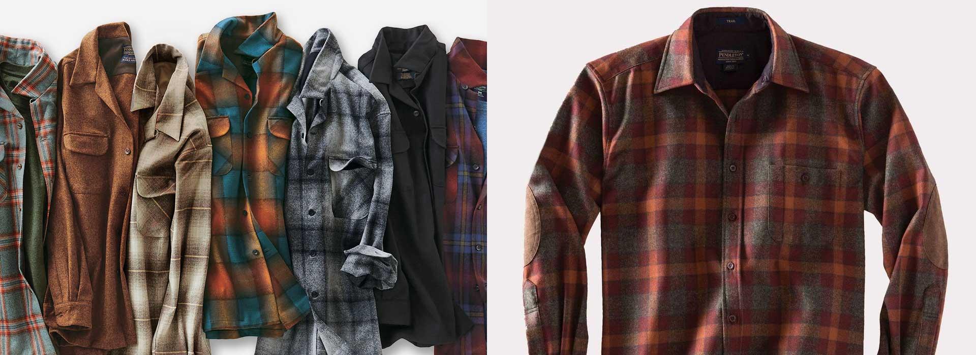 Up to 50% off Pendleton shirts