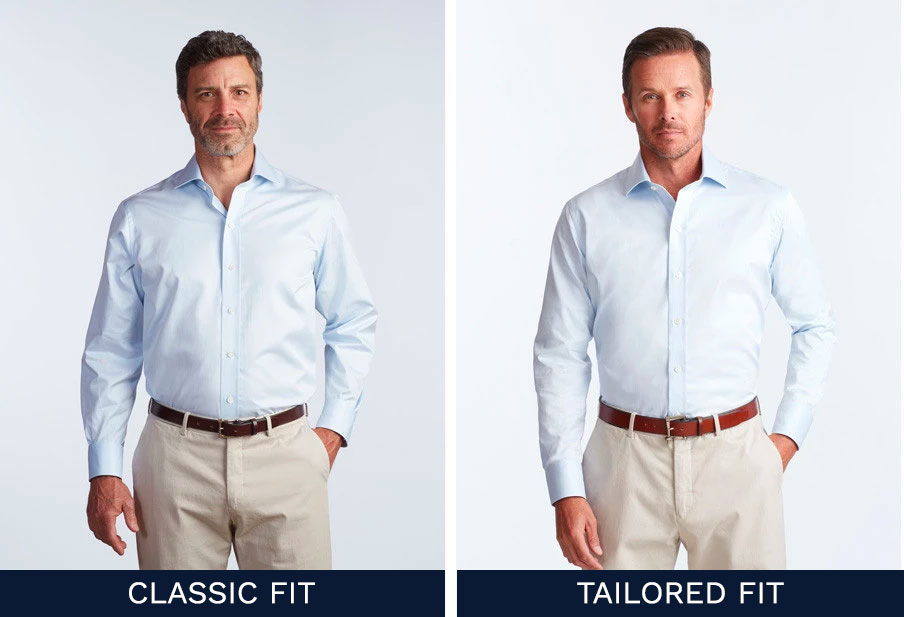 Classic vs Tailored Fit