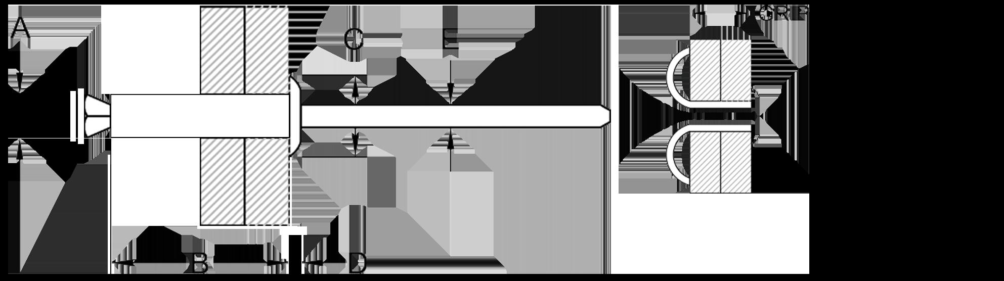 Rivtec® Peel Rivet Series