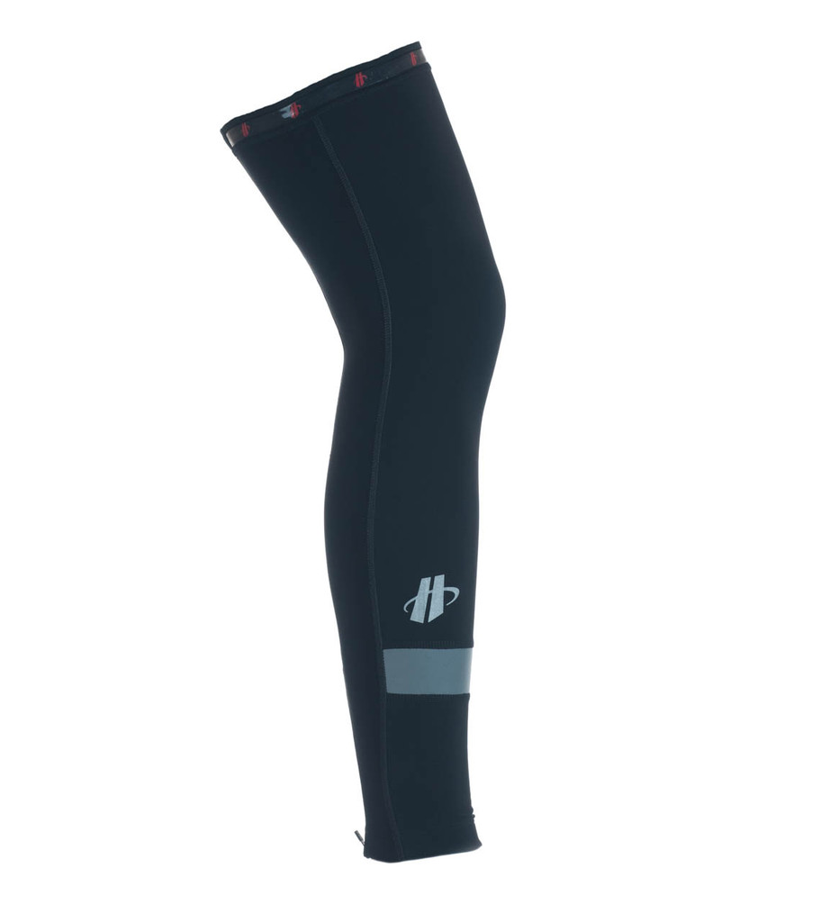 Size S EUC Men/'s 2016 Hincapie Racing Team Element Cycling Leg Warmers Black