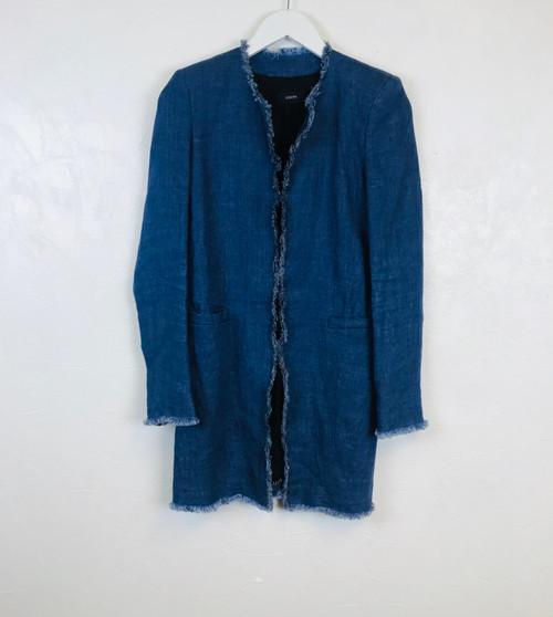 Joseph Denim Coat. Pre Owned Designer