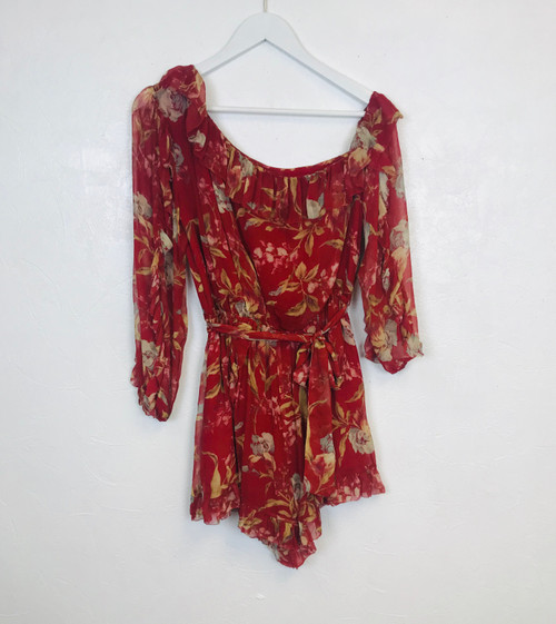 Zimmermann Playsuit, Swoon Love Sale, Pre Owned Designer