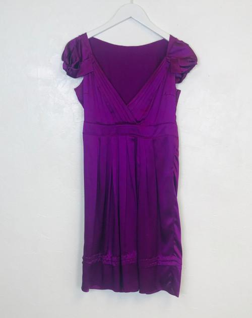 Prada Ruffle Shoulder Dress, Swoon Love Sale, Pre Owned Designer