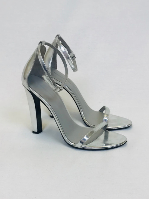 Alexander Wang Silver Sandals, Swoon Love, Pre Owned Designer Collections
