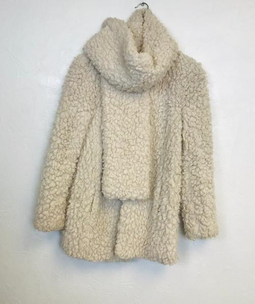 Marc Cain Teddy Bear Coat. Pre Owned Designer