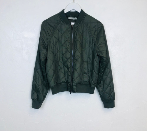Vince Quilted Bomber Jacket. Pre-Owned Designer Collections.