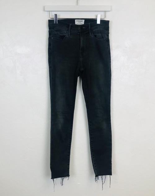 Frame Le High Skinny Jeans. Pre-Owned Designer.