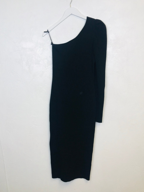 Essentiel Antwerp One Shoulder Dress, Pre Owned Designer