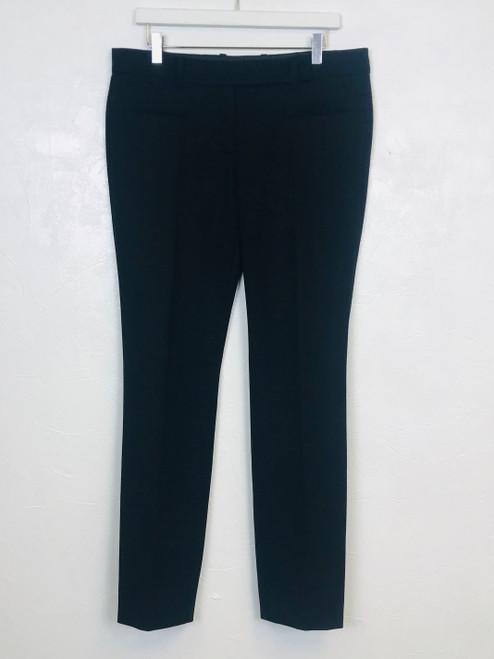 Prada Cigarette Leg Wool Trousers, Pre Owned Designer