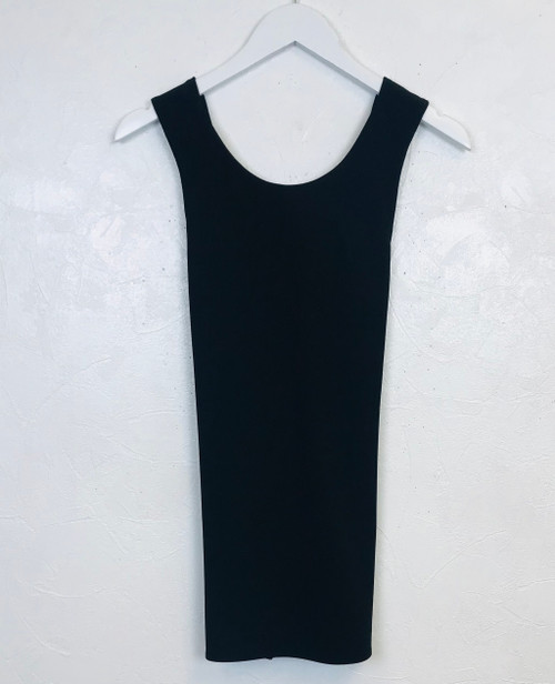 Theory  black cross back top. Pre-Owned Designer Collections.