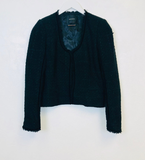 Maison Scotch Boucle Jacket, Pre Owned Designer