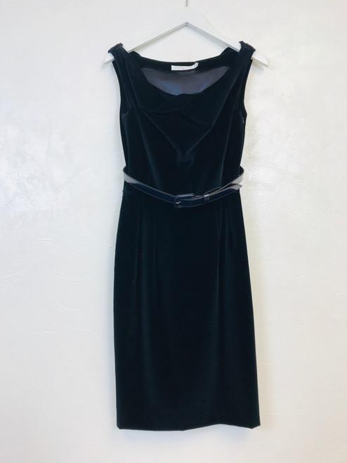 Christian Dior Velvet Dress, Pre Owned Designer
