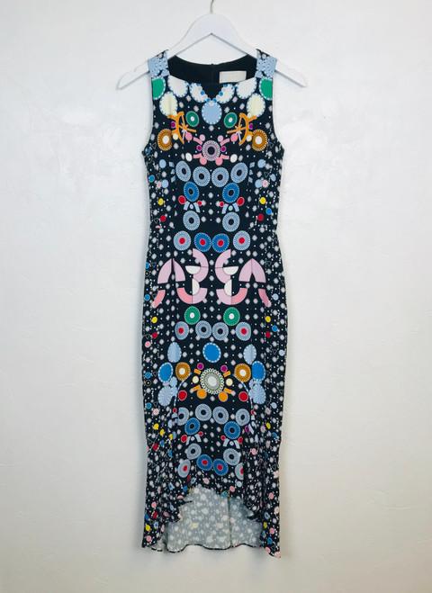 Peter Pilotto Midi Dress, Pre Owned Designer