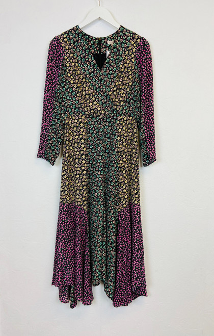 Rebecca Taylor Ditsy Floral Midi Dress