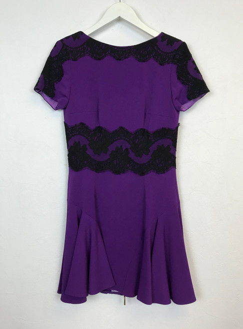 Philip Armstrong Lace Panel Skater Dress